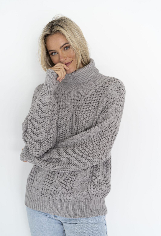 Humidity Bonfire Sweater - Grey