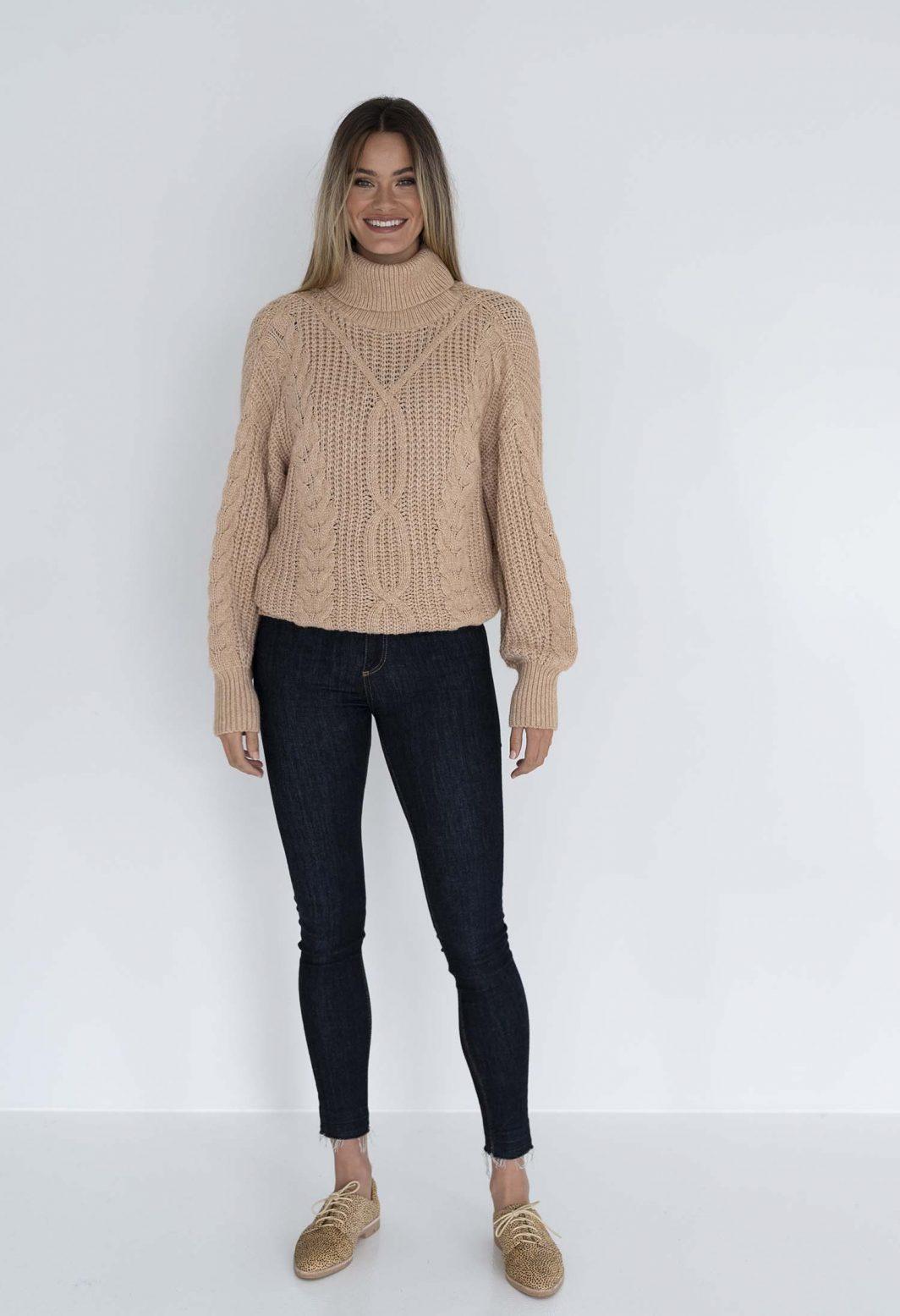 Humidity Bonfire Sweater - Salmon