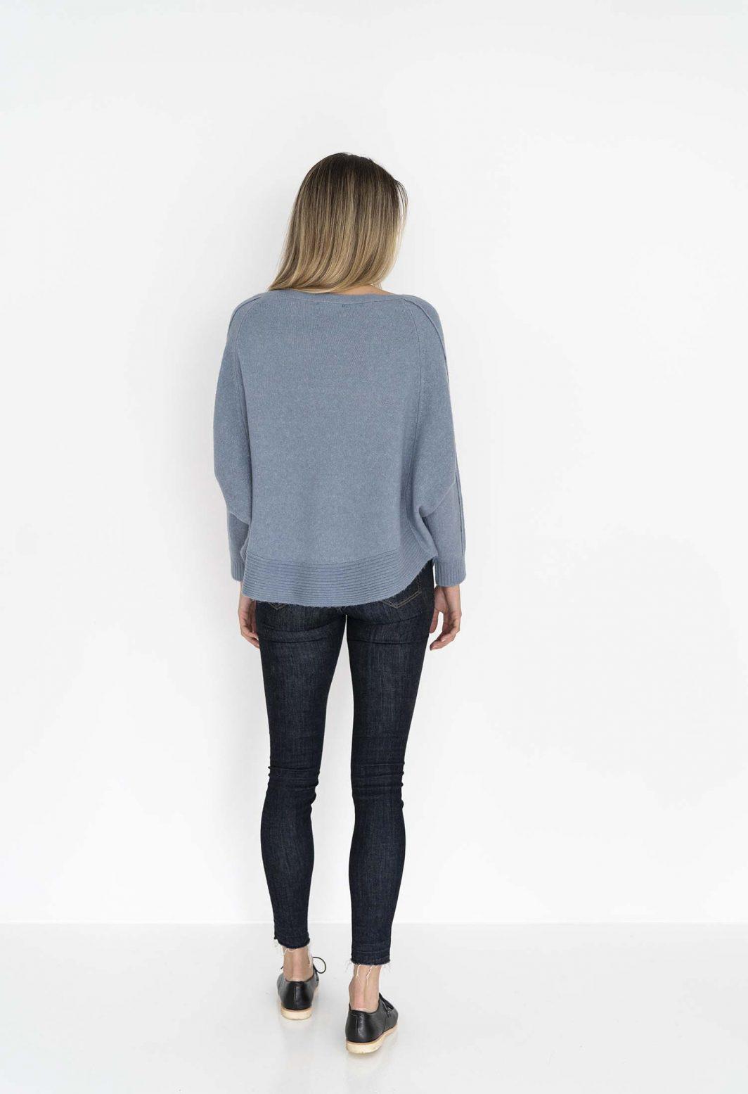 Humidity Lazy Sweater Dove Blue