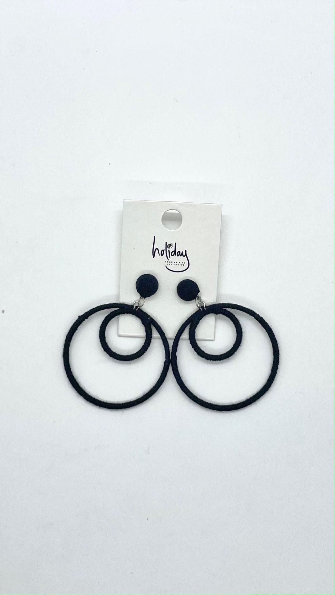 Darla Earring Black