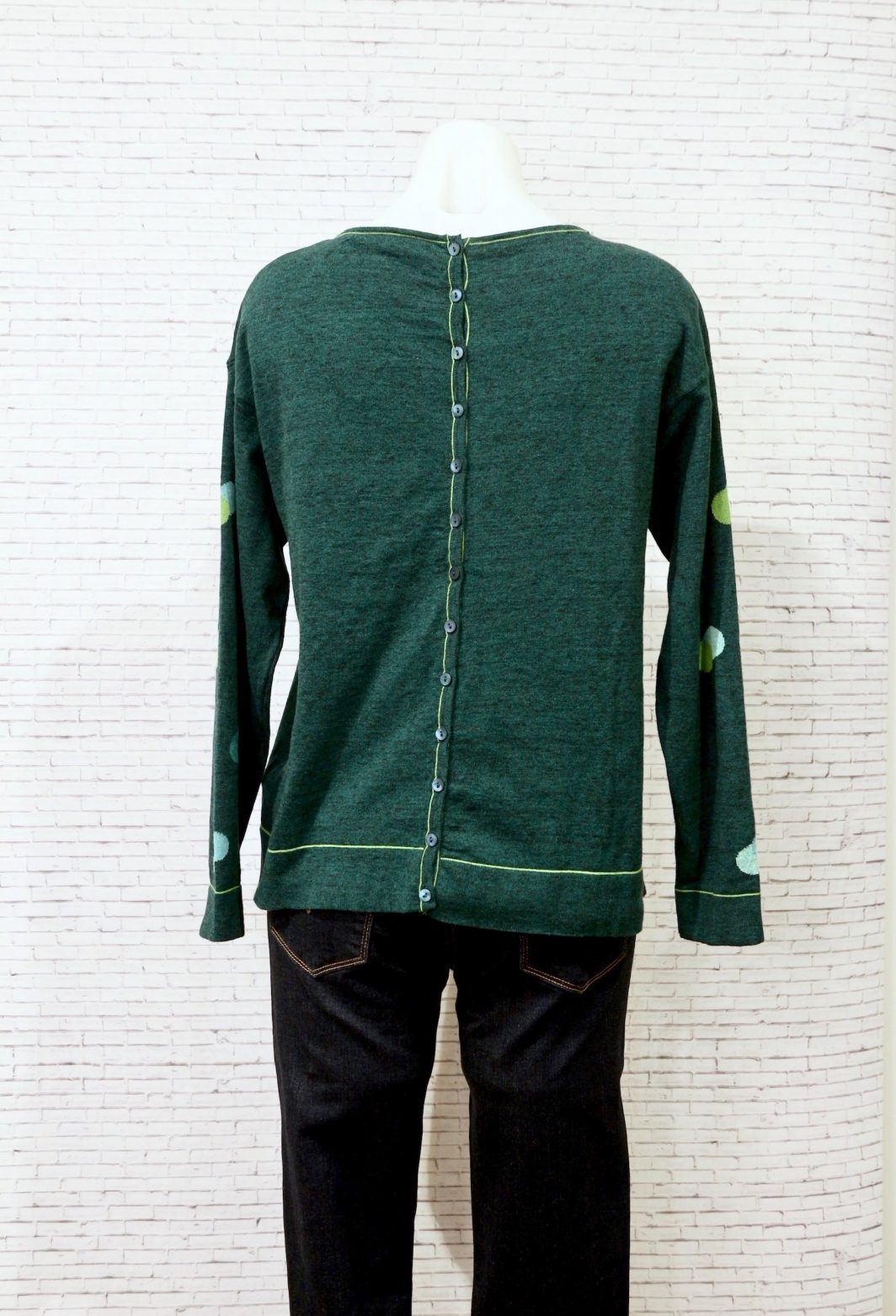 Mansted Dusty Sweater Green