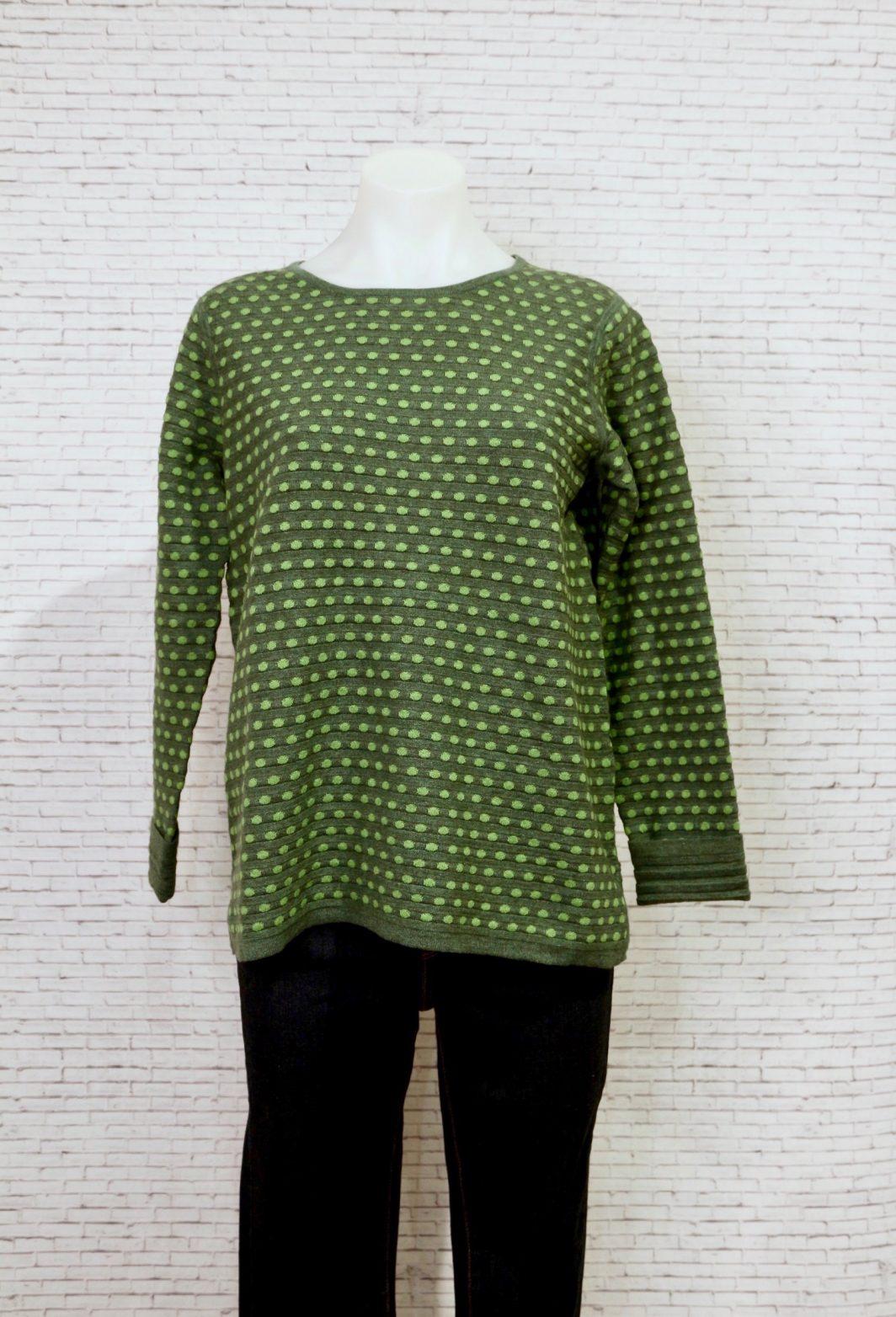 Mansted Li Sweater Dark Green