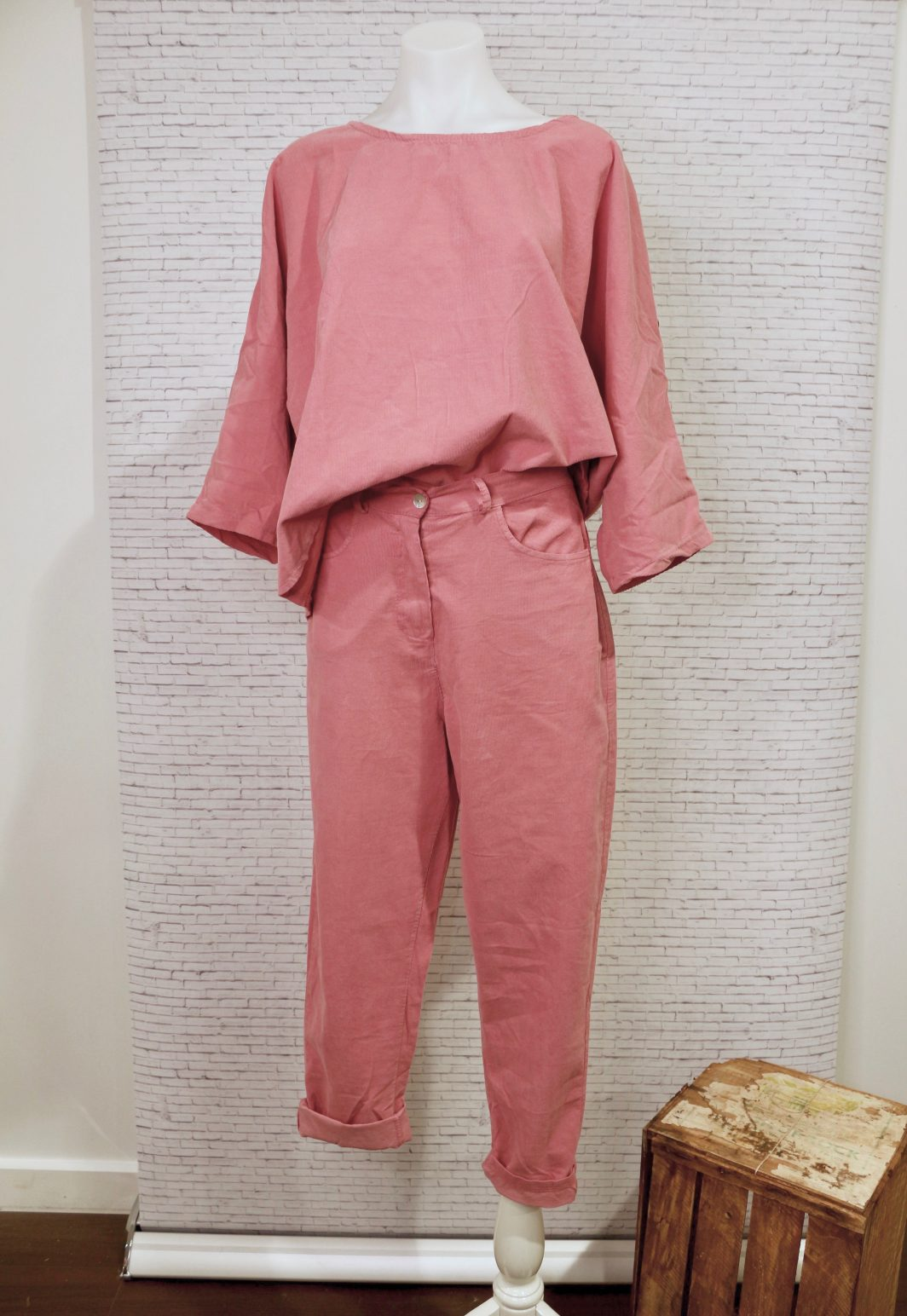 Together Forever Top & Never Too Early Pant Rose
