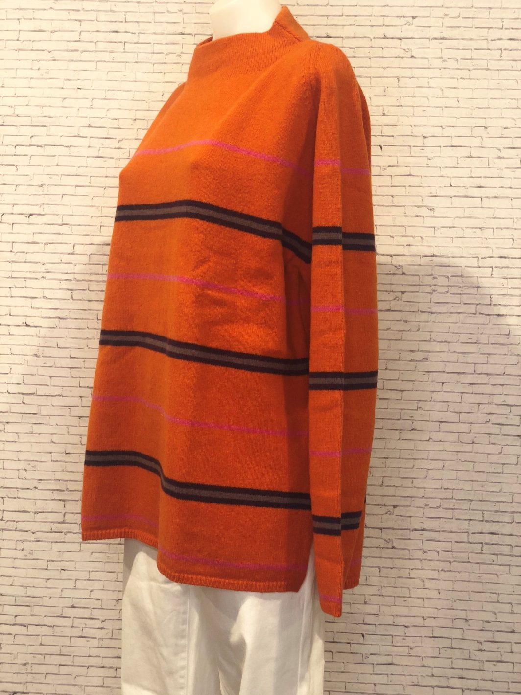 Mansted Magella Sweater Dark Orange