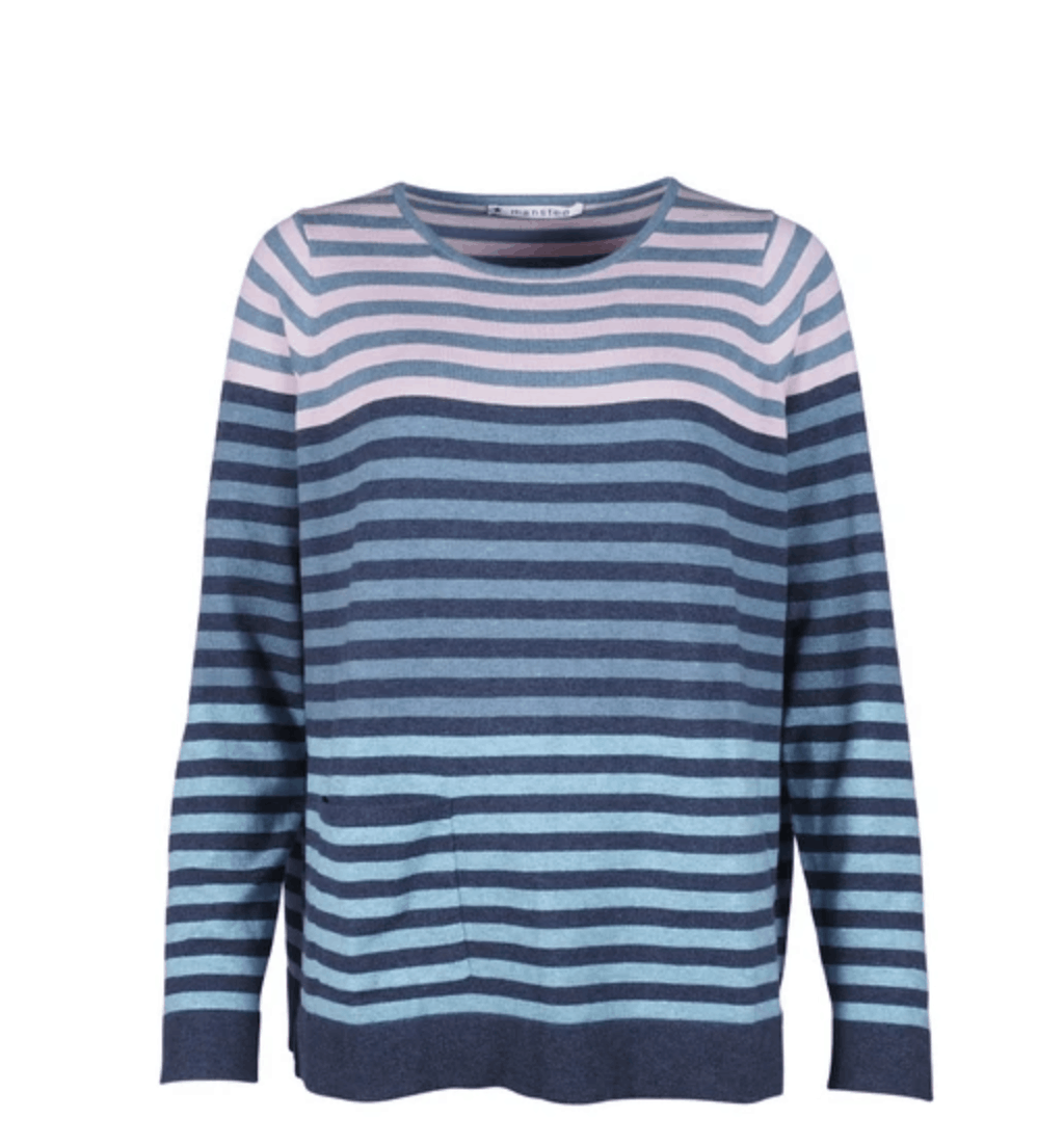 Mansted Lolli Sweater Soft Blue