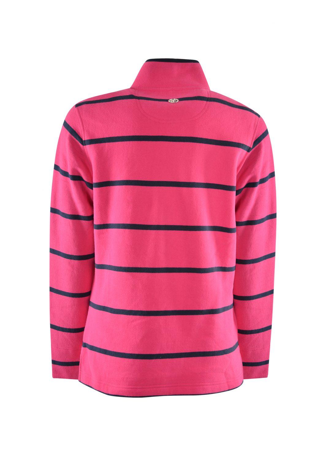Thomas Cook Women's Windsor Stripe Rugby Dark Navy/Pink