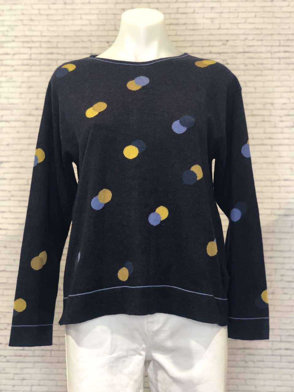 Mansted Dusty Sweater Navy