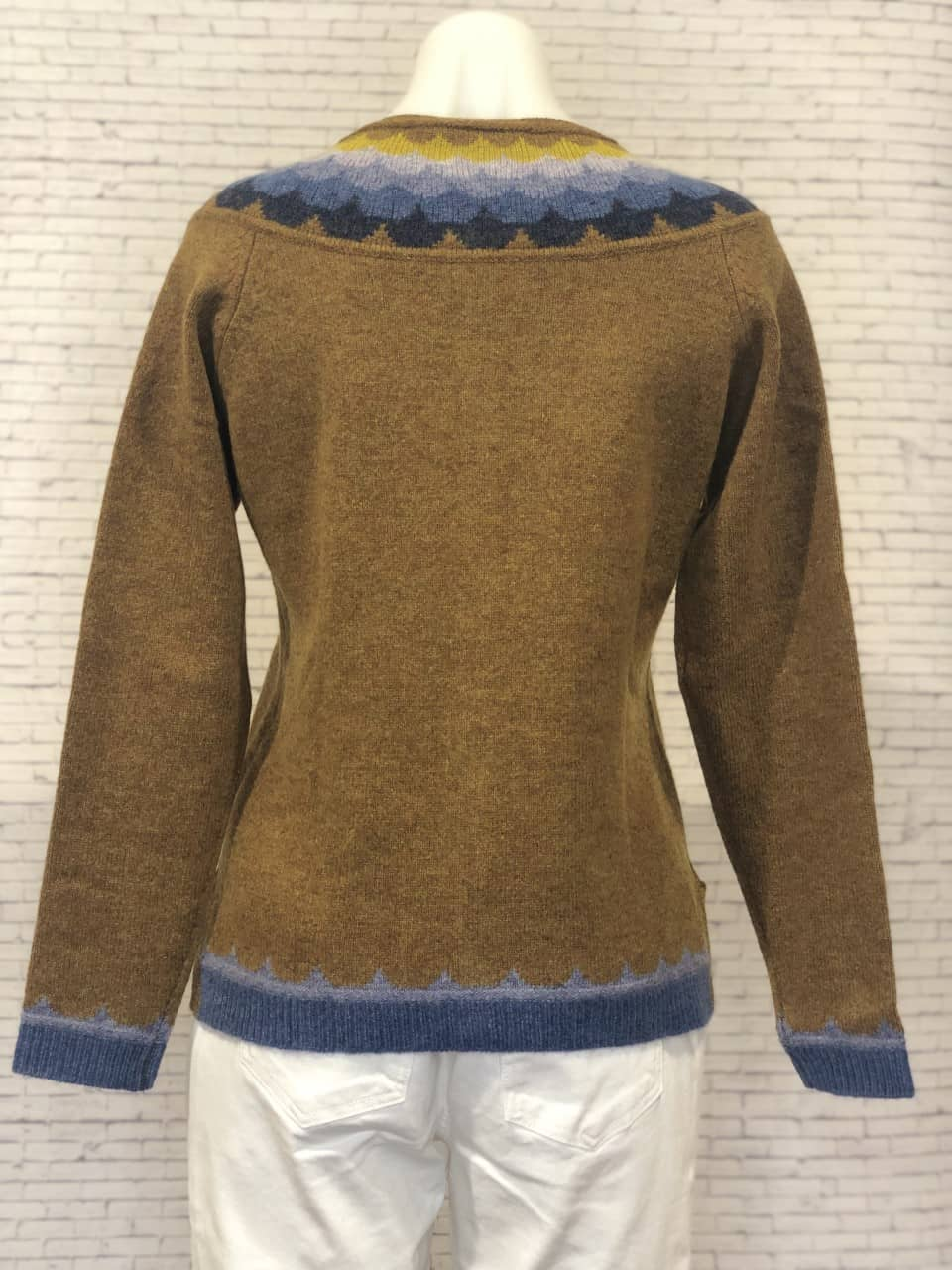 Mansted Jaleh Cardigan Curry