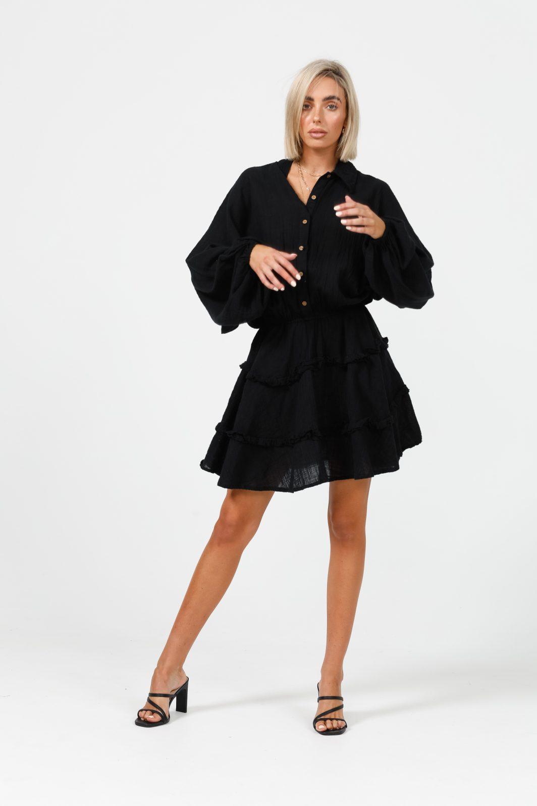 Daisy Says Penzance Dress Black