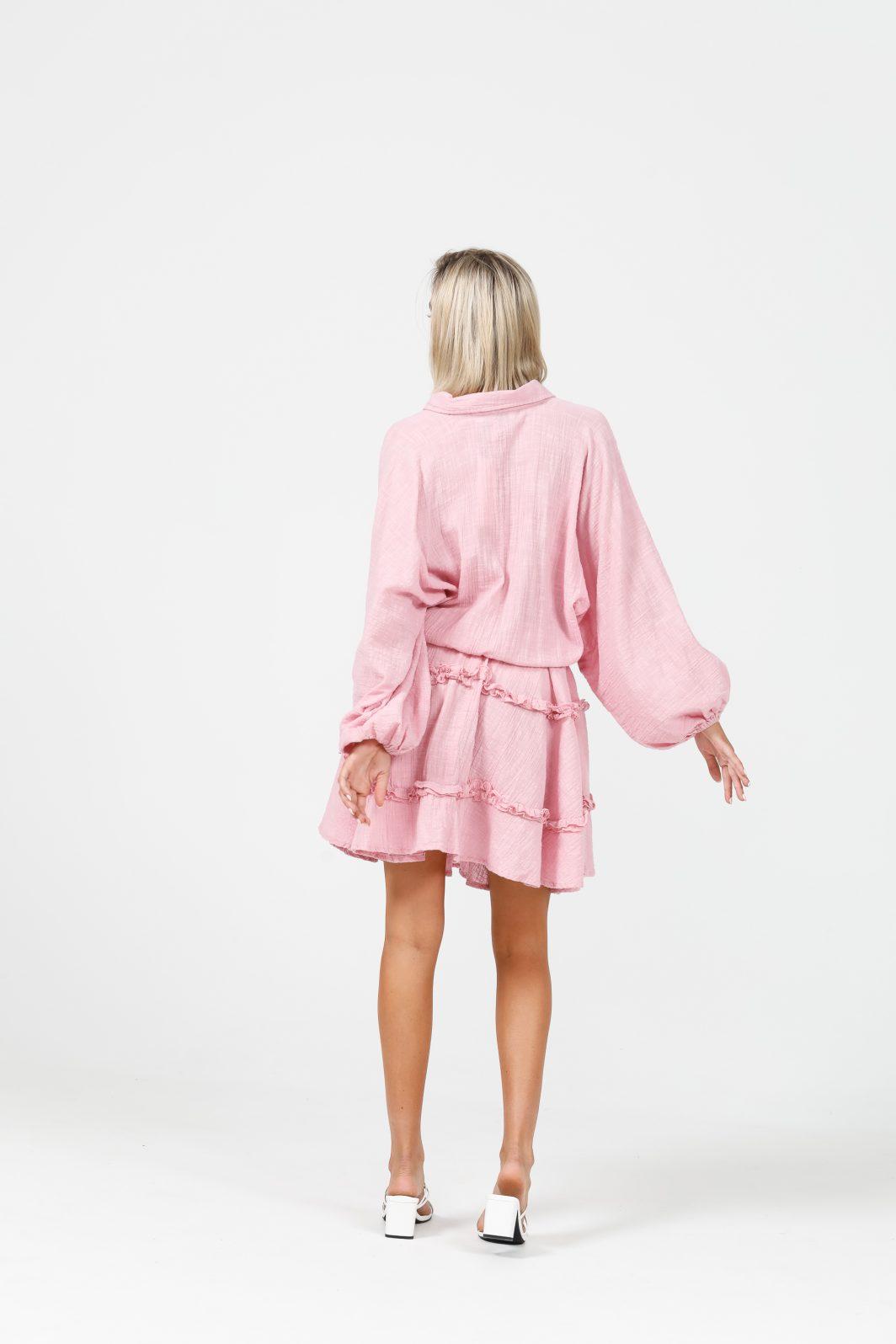 Daisy Says Penzance Dress Pink