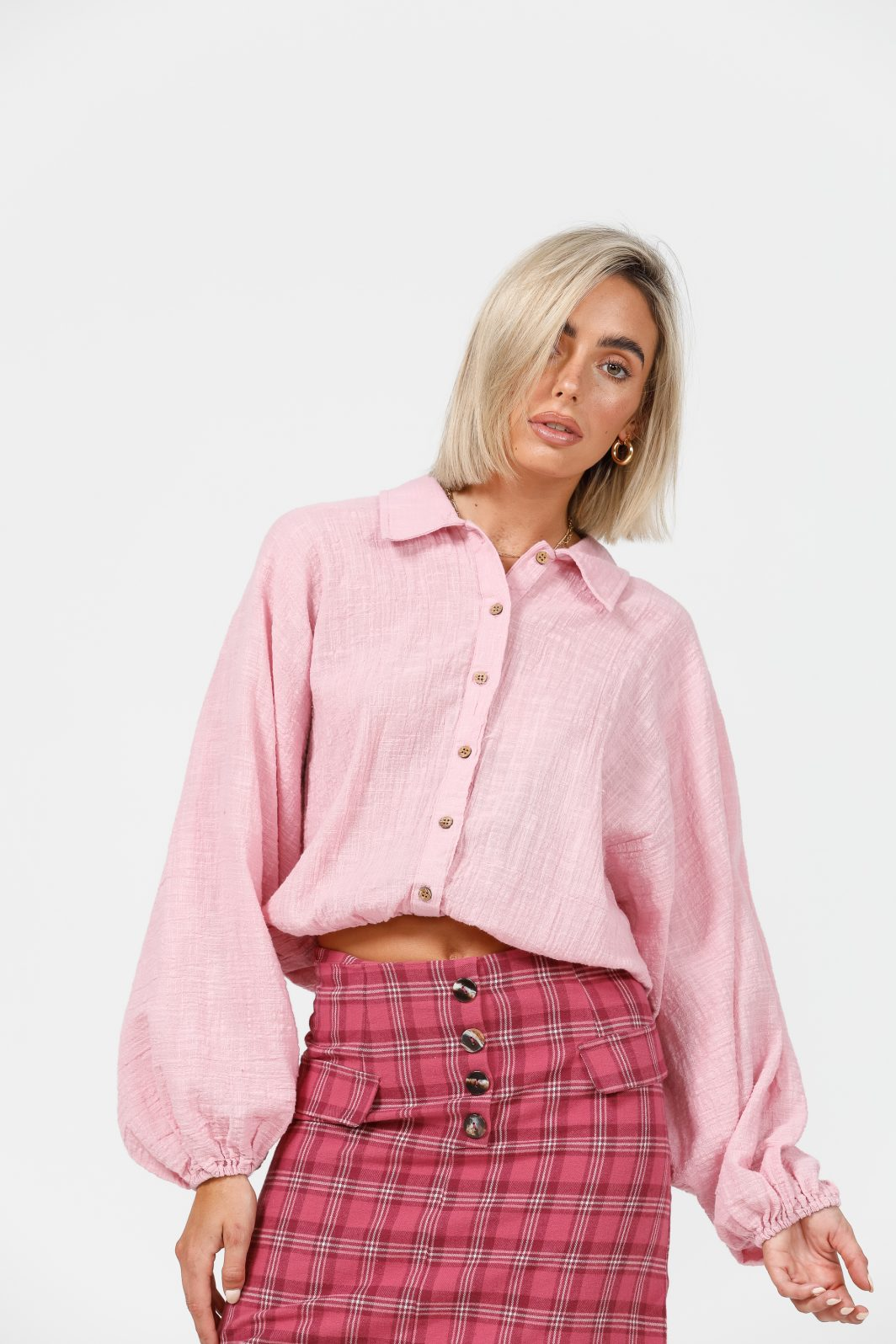 Daisy Says Penzance Shirt Pink