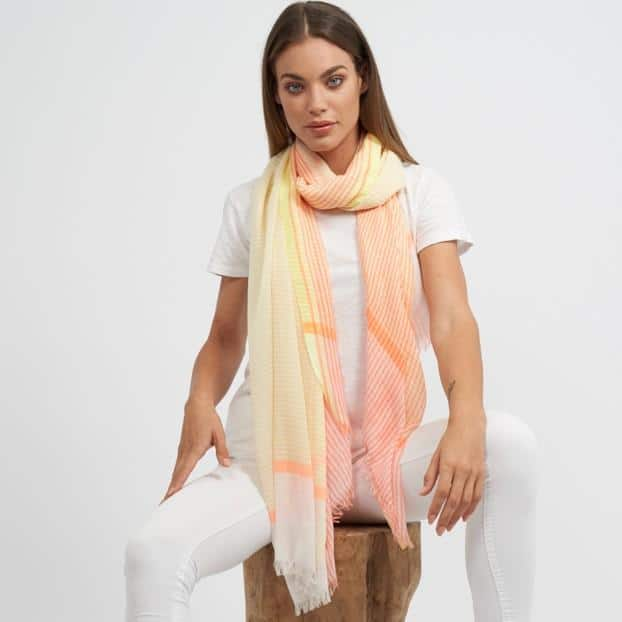 Red Rabbit Andalucia Scarf Yellow