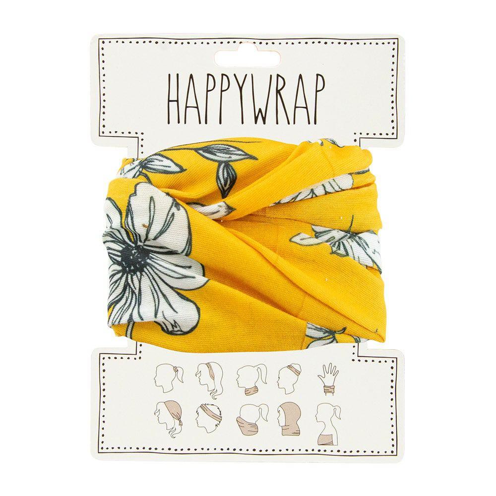 Happy Wrap Mustard Flora