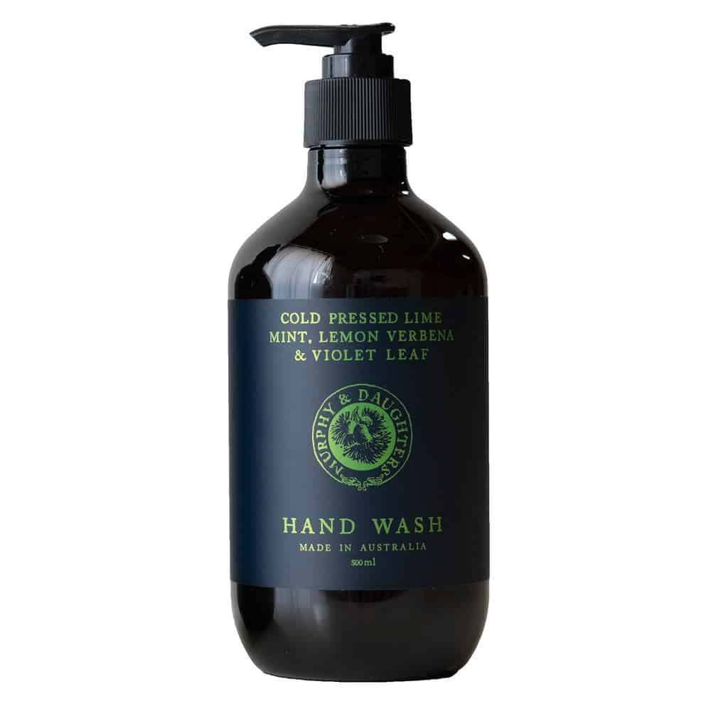 Murphy_and_Daughters Hand & body wash - Cold Pressed Lime, Mint, Lemon Verbena and Violet Leaves