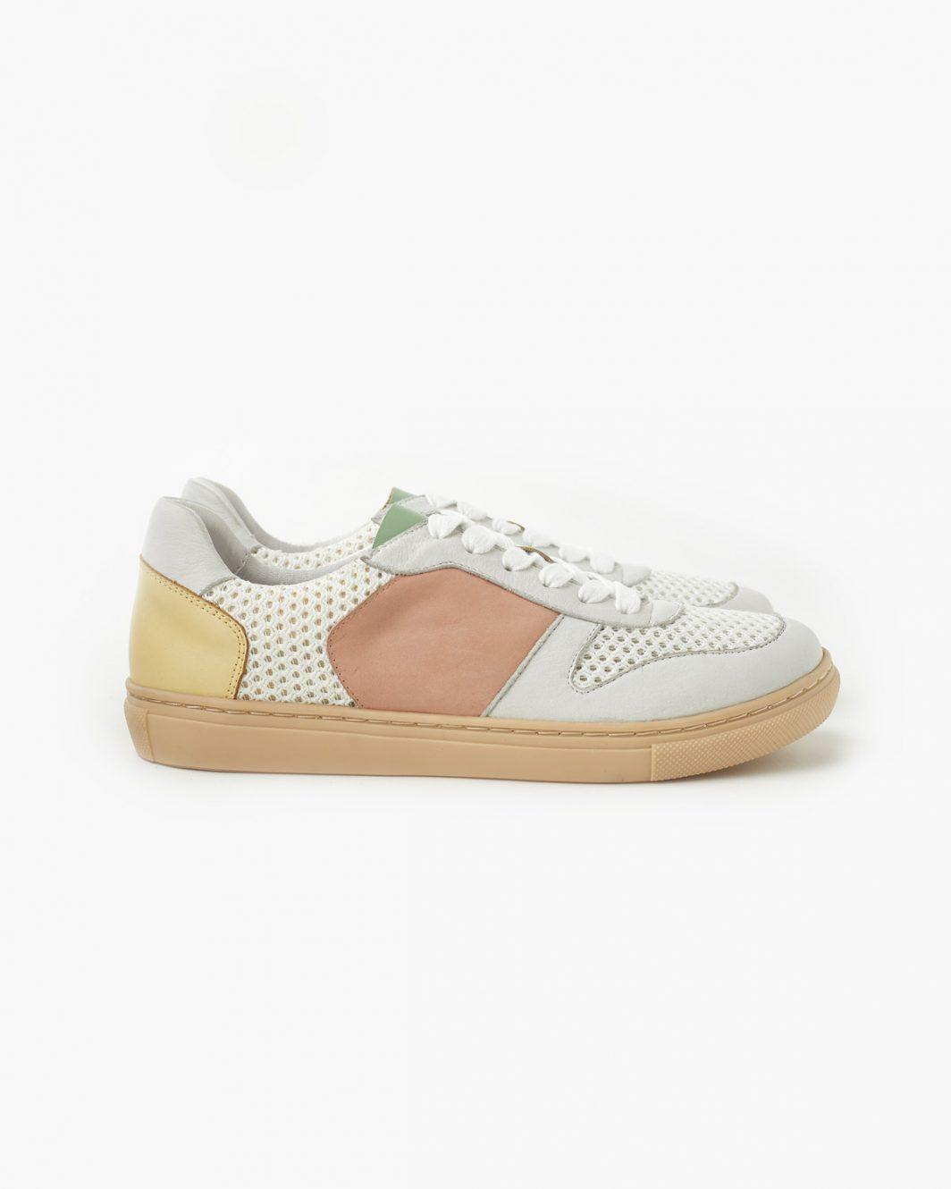 Tao Leather Sneakers - Yellow - 1