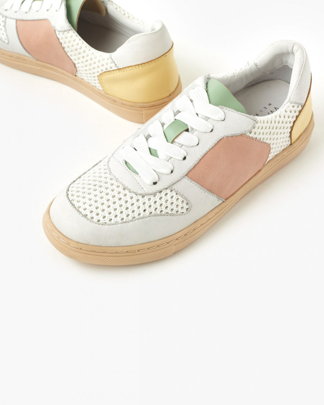 Tao Leather Sneakers - Yellow - 3